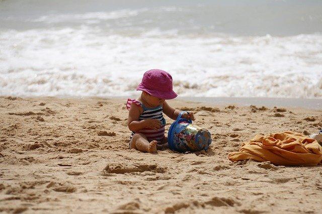 voziček za plažo